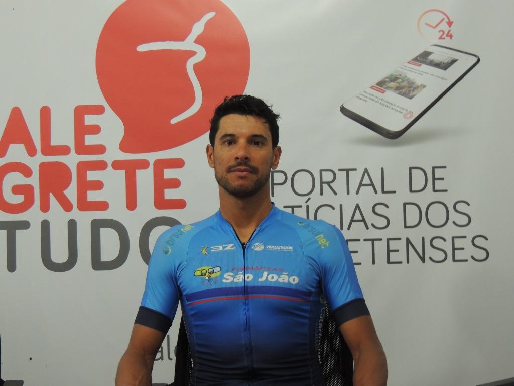 Ciclista alegretense, hexacampeão gaúcho traça planos para 2021 e quer incentivar novos bikers
