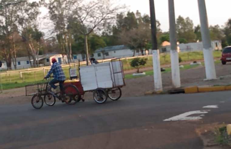 """Contagem comprova que mais de 1.200 ciclistas cruzam a rótula """"Fernandão"""" a cada 12 horas"""