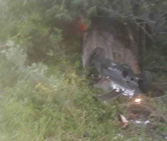 Duas pessoas morrem em acidente entre dois carros na BR-290, em Uruguaiana