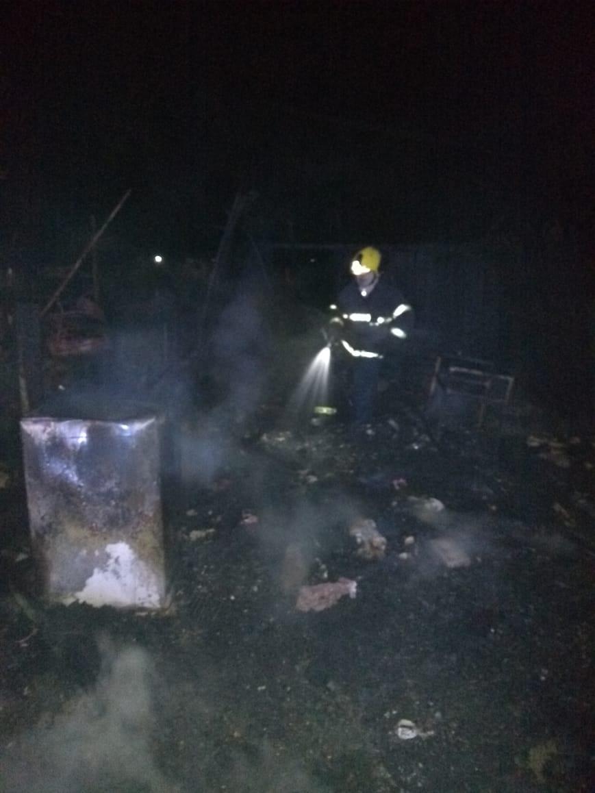 Incêndio destrói casa em Alegrete