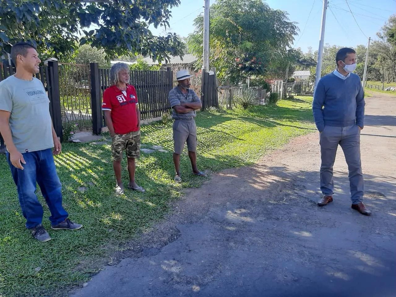 Vereador Vagner Fan visita Bairro Rui Ramos