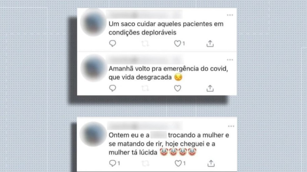 Postagem de profissional de saúde causa indignação no RS: 'Amanhã volto pra emergência do Covid, vida desgraçada'