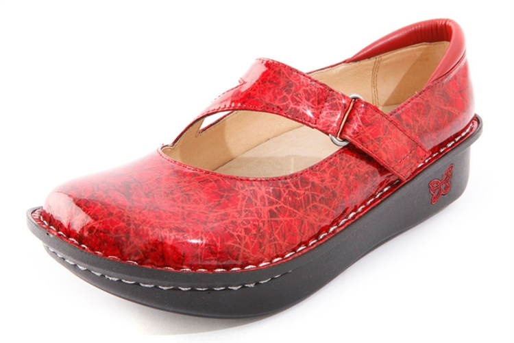 Alegria Dayna Red Lifeline Patent FREE SHIPPING Both