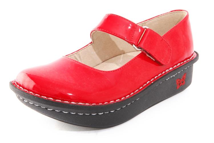 Alegria Kids Vinca Paloma Red AlegriaShoeShop Com