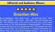 5 star waxing braz winner award