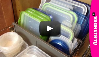 The First Step To Organizing Food Storage Containers