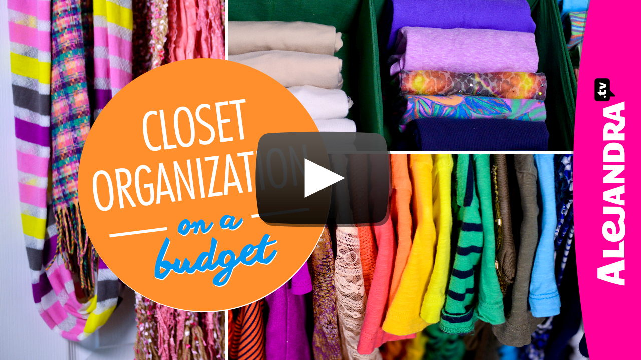 [VIDEO]: Closet Organization On A Budget (Part 4 Of 4 Dollar Store