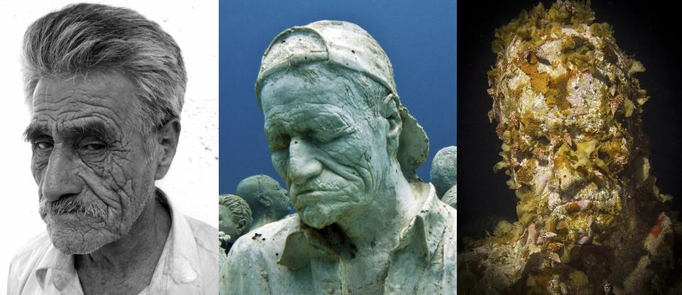 silent evolution 034 jason-decaires-taylor sculpture