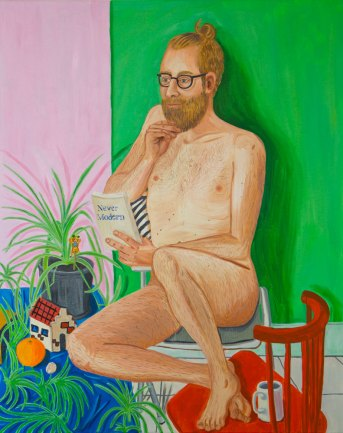 Sam, oil on canvas, 100 x 80 cm, 2016