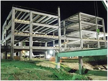 Hospital en zacatecas, a base de marcos rígidos de concreto