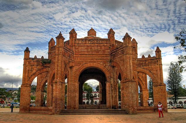 """""""La Pila"""" monumento histórico de la ciudad de Chiapa de Corzo, Chiapas."""