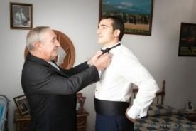 Reportaje de boda en Granada. Casa Novio