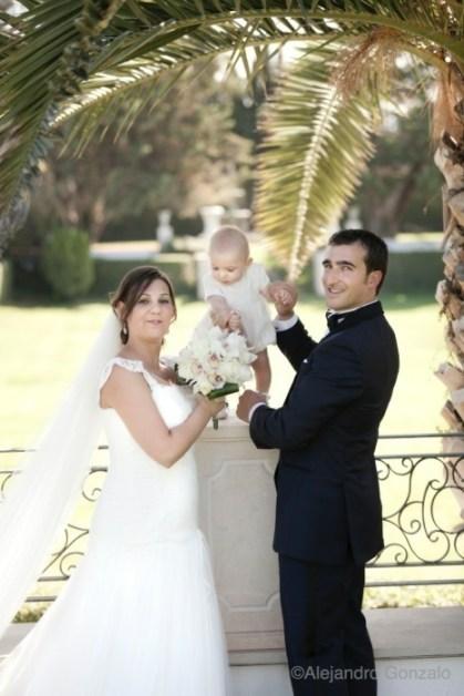 Reportaje de boda en Granada. Fotos de Exterior