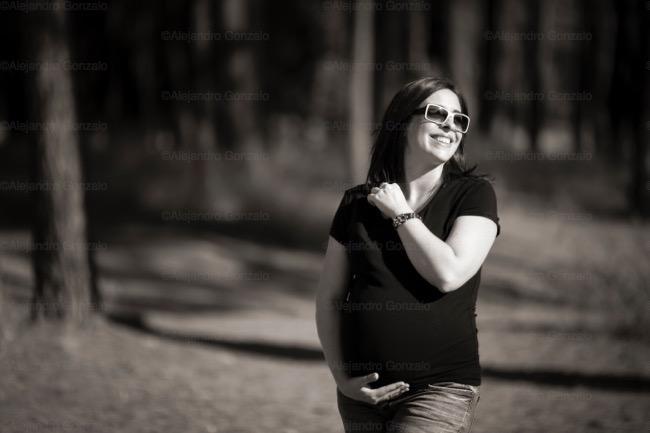 foto de embarazo Granada