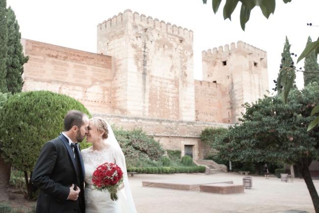 fotos boda alhambra granada