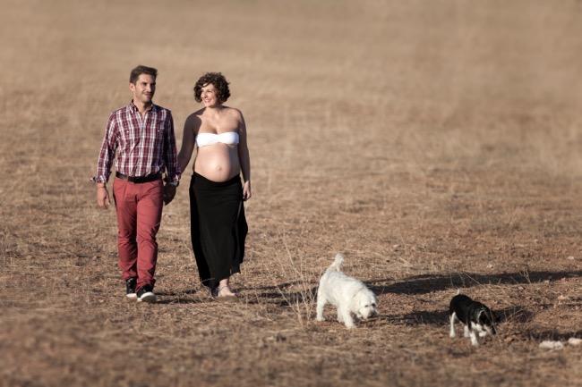 fotos embarazada granada