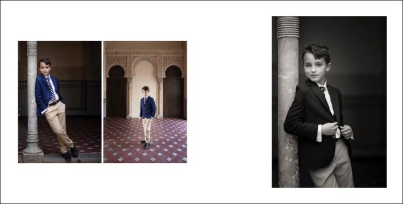 fotos de comunión alhambra granada
