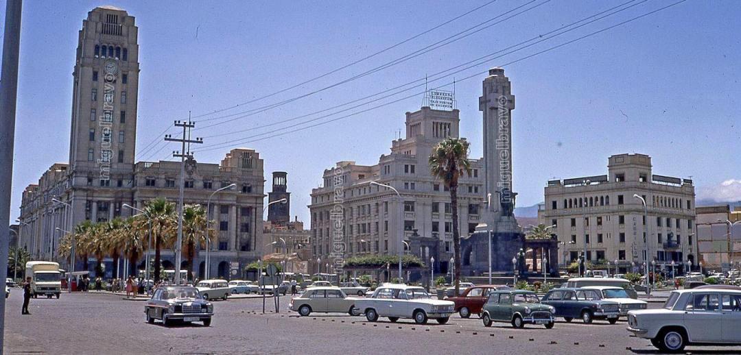 Santa Cruz de Tenerife en 1975