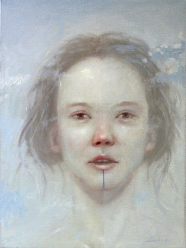 there are two halves to everything – oil on linen