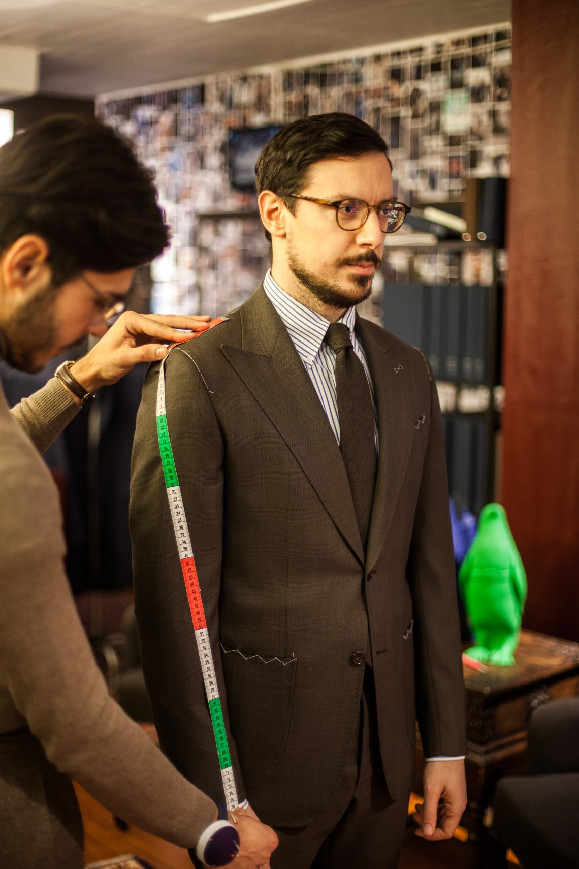 Difference between bespoke, made-to-measure and ready-to-wear