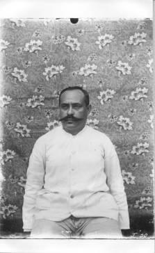 Joaquim deBrum self-portrait - Likiep atoll