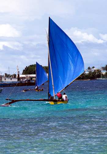 Canoes of the Marshall Islands