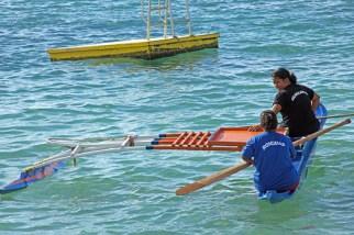 Women's rowing contest