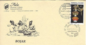 Alele Postal Sub-Station First Day Cover - Bojar - Sep 27 1990