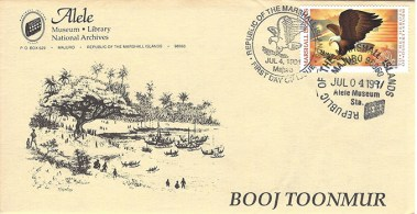 Alele Postal Sub-Station First Day Cover - Booj Toonmur