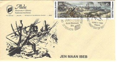 Alele Postal Sub-Station First Day Cover - Jen Maan Ibeb