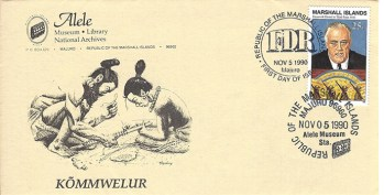 Alele Postal Sub-Station First Day Cover - Kommwelur