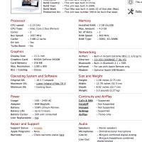 Cómo averiguar el modelo y las características técnicas exactas de tu Macbook
