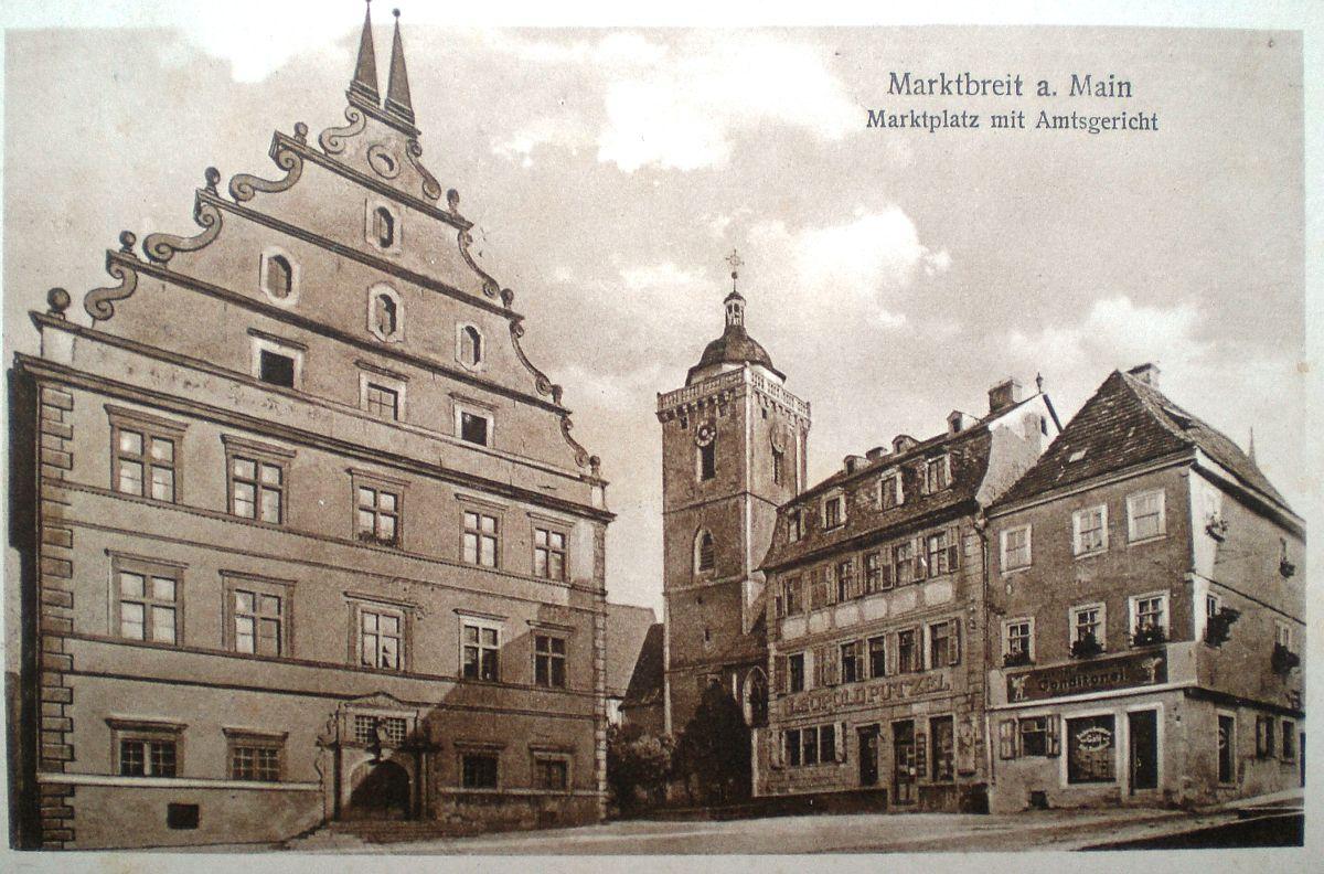 Die Synagoge in Marktbreit Kreis Kitzingen