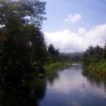 Řeka u Baracoa