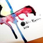 Podpis Akvarel Alena Macková