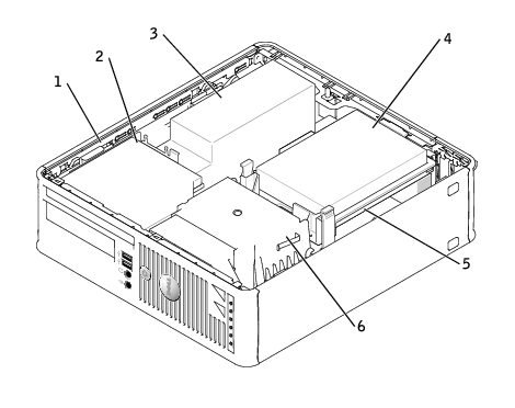 Small Form Factor Computer: Dell OptiPlex GX620 User's Guide