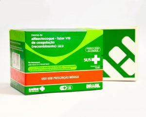 RECOMBINANTE - Usado no tratamento da hemofilia, Hemo-8r é o Fator VIII recombinante da Hemobrás. Foto: Acervo Hemobrás
