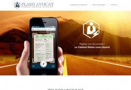 Flash-avocat – Applications android / iphone