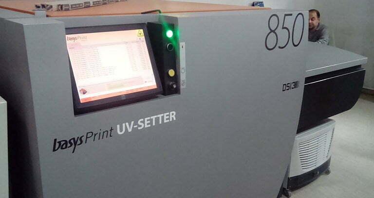 CTP basysPrint UV-Setter 850 modelo 853F