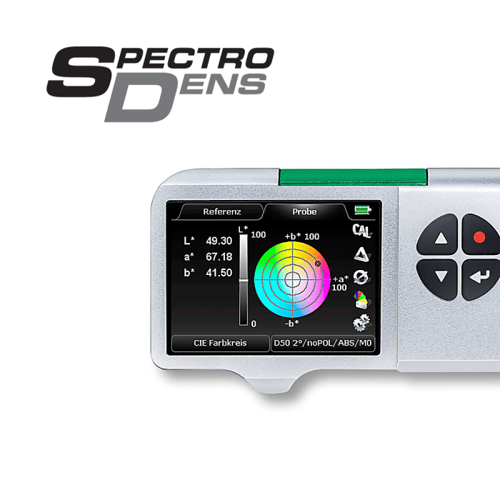 TECHKON SpectroDens, Espectrodensitômetro