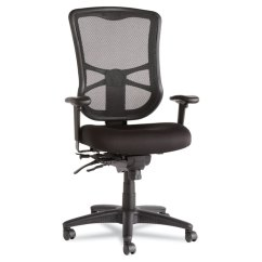 Alera Elusion Series Mesh Mid Back Multifunction Chair Barcelona Design History High Black Details