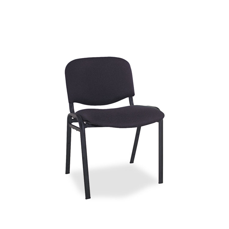 artco bell chairs silver metal bar alera continental series stacking black fabric upholstery 11442
