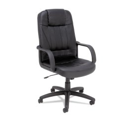 Chair For Office Use Gray Cushions Alera Sparis Series Executive High Back Swivel Tilt Leather Home Chairs Stools Seating Accessories