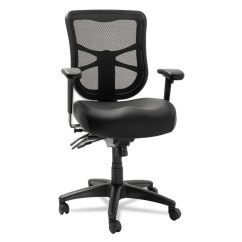 Alera Elusion Chair Lafuma Futura Xl Zero Gravity Series Mesh Mid Back Multifunction Black Home Chairs Stools Seating Accessories