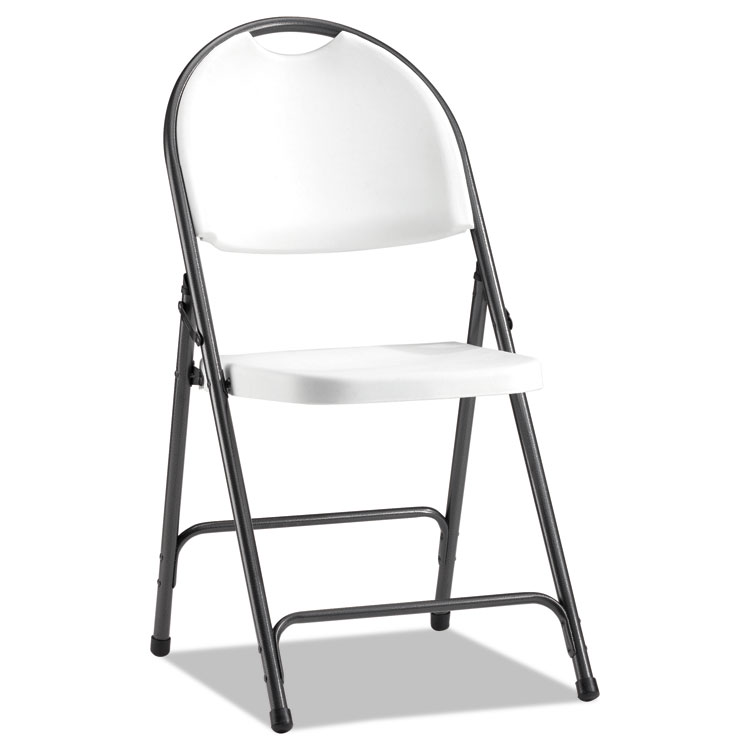 ergonomic folding chair pink upholstered chairs alera molded resin white black anthracite 4 carton home stools seating accessories