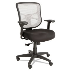 Alera Elusion Series Mesh Mid Back Multifunction Chair Ikea Dining Covers White Swivel Tilt Black Details