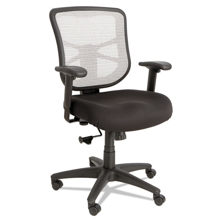 alera elusion chair accent chairs with ottomans series mesh mid back swivel tilt black white details