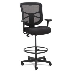 Alera Elusion Chair Revolving Parts Names Series Mesh Stool Black Details