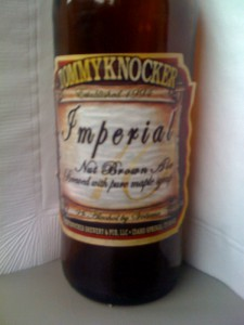 Tommyknocker Brewery's Imperial Nut Brown Ale