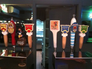 Taps Handles at The Nook